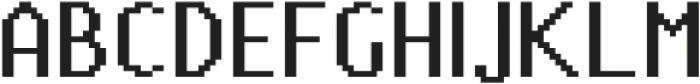 Pixie Sans otf (400) Font UPPERCASE