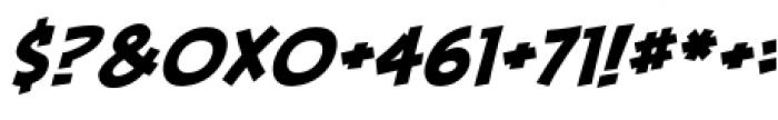 Piekos FX BB Basic Italic Font OTHER CHARS