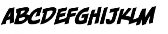 Piekos FX BB Basic Italic Font LOWERCASE