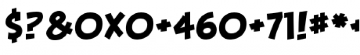 Piekos FX BB Basic Font OTHER CHARS