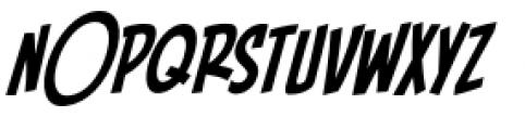 Piekos FX BB Condensed Italic Font UPPERCASE