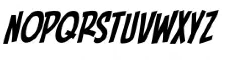 Piekos FX BB Condensed Italic Font LOWERCASE