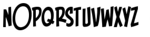 Piekos FX BB Condensed Font UPPERCASE