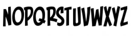 Piekos FX BB Condensed Font LOWERCASE