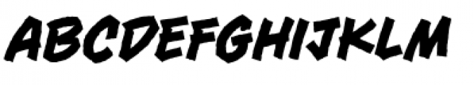 Piekos FX Rough BB Rough Font LOWERCASE