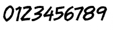 Piekos FX Rough BB Thin Font OTHER CHARS
