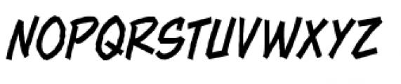 Piekos FX Rough BB Thin Font UPPERCASE