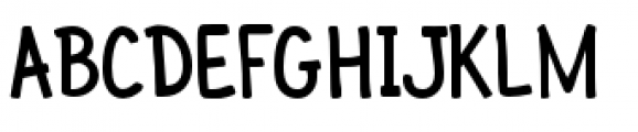 Pinky Font UPPERCASE