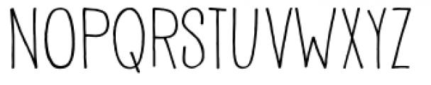Pisang Regular Font UPPERCASE