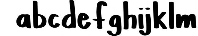 PINTA - A Handpainted Font Font LOWERCASE