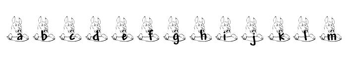 PIGZ_KG Font LOWERCASE