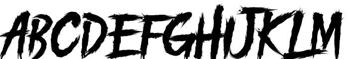PILITACORE! DEMO Font UPPERCASE