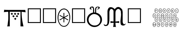 Pi Rho Runestones Font OTHER CHARS