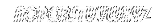 Pi in the SciFi Font UPPERCASE