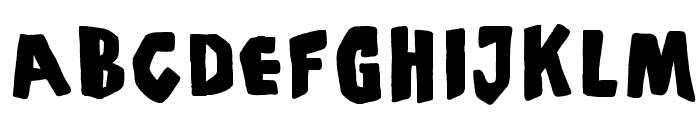 PiS Coffins and Ghosts Font UPPERCASE
