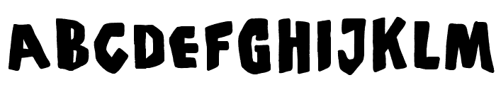 PiS Coffins and Ghosts Font LOWERCASE