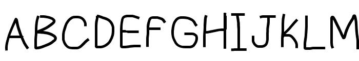 Piccolo Font UPPERCASE