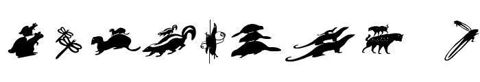 PickABack Font OTHER CHARS