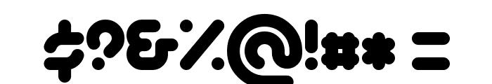 PicoBlackAl Font OTHER CHARS
