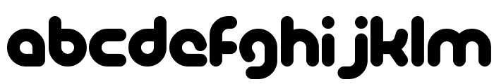 PicoBlackAl Font LOWERCASE