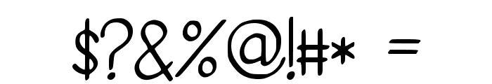 PidginDance Font OTHER CHARS