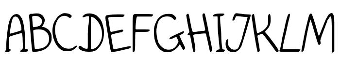 PidginDance Font UPPERCASE