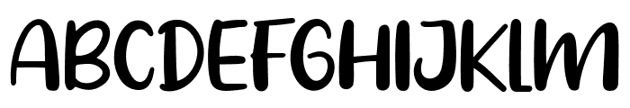 Pig Year Font UPPERCASE