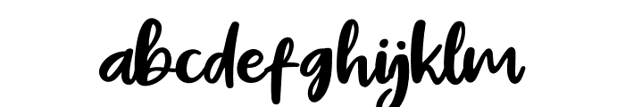 Pig Year Font LOWERCASE