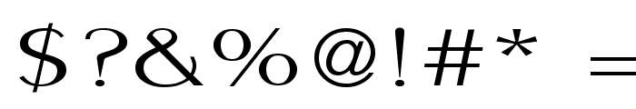 PigNoseTyp Font OTHER CHARS