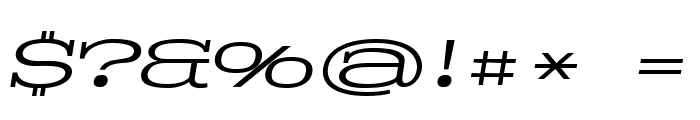 Pigeon PERSONAL Light Italic Font OTHER CHARS