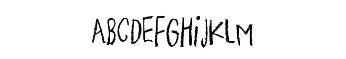 PigeonWingDEMO Font UPPERCASE