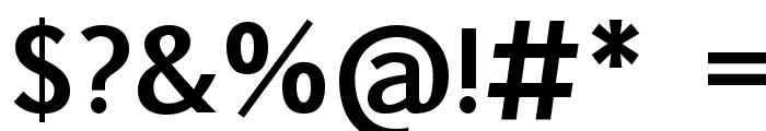 Pigiarniq Bold Font OTHER CHARS