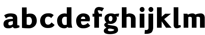 Pigiarniq Heavy Font LOWERCASE