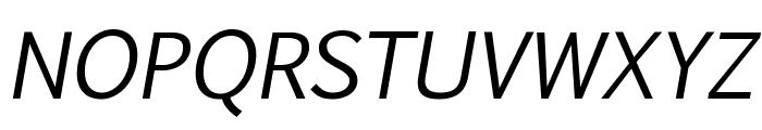 Pigiarniq Italic Font UPPERCASE