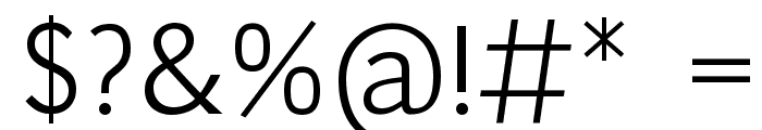 Pigiarniq Light Font OTHER CHARS