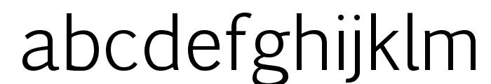 Pigiarniq Light Font LOWERCASE