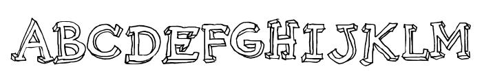 Pijamas Font UPPERCASE