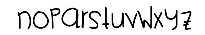PikaPika Font LOWERCASE