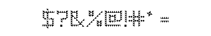 Pike Regular Font OTHER CHARS
