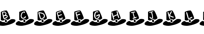Pilgrim Hats Font UPPERCASE