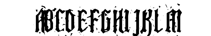 Pillbox Opaque Font UPPERCASE