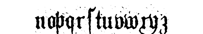 Pillbox Opaque Font LOWERCASE