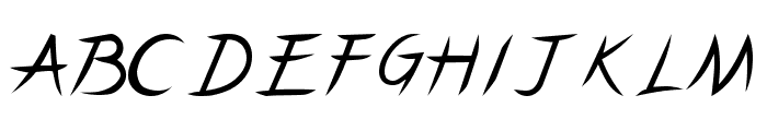 Pincel Caps Font UPPERCASE
