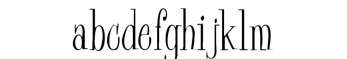 Pine Casual Font LOWERCASE