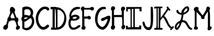 Pineapple Delight Font UPPERCASE