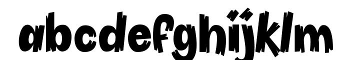 Pineapple Demo Font LOWERCASE