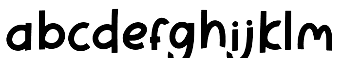 PineappleParty-Personaluse Font LOWERCASE