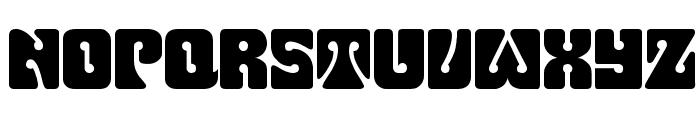 Pinocchio Font UPPERCASE