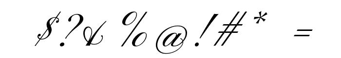 Pinyon Script Font OTHER CHARS