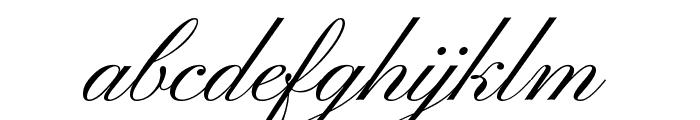 Pinyon Script Font LOWERCASE